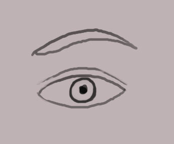 Tutorial for photoshop how to draw a human eye photoshop drawing the human eye ccuart Gallery
